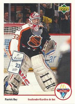 Patrick Roy Hockey Card