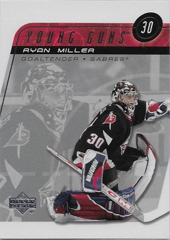 Ryan Miller Upper Deck Young Guns RC