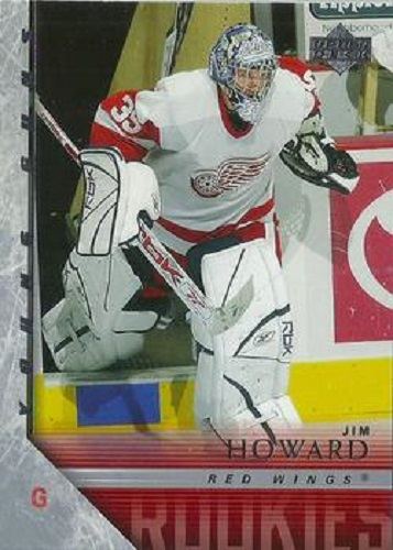Jimmy Howard Upper Deck Young Guns RC