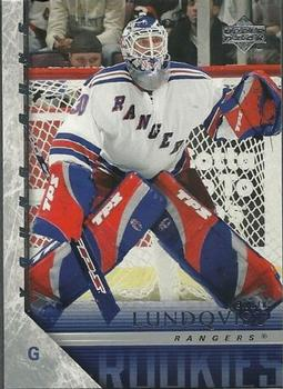 Henrik Lundqvist Upper Deck Young Guns RC