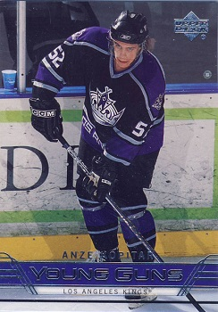 Anze Kopitar Upper Deck Young Guns RC
