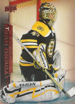 Tuuka Rask Upper Deck Rookie Card