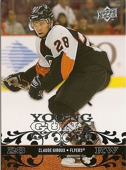 Claude Giroux Upper Deck Young Guns RC