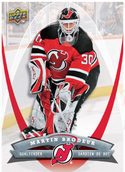Martin Brodeur 2008-09 McDonalds Hockey Card