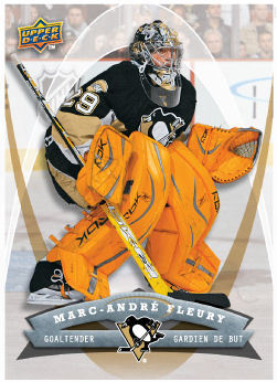 Marc-Andre Fleury 2008-09 McDonalds Hockey Card