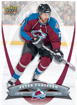 Peter Forsberg 2008-09 McDonalds Hockey Card