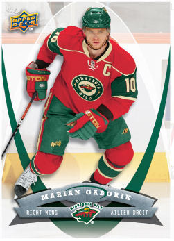 Marian Gaborik 2008-09 McDonalds Hockey Card