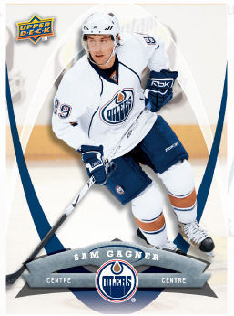 Sam Gagner 2008-09 McDonalds Hockey Card