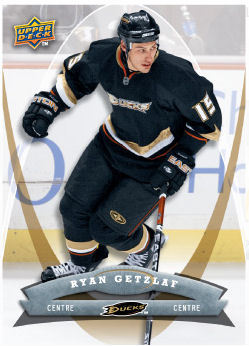 Ryan Getzlaf 2008-09 McDonalds Hockey Card