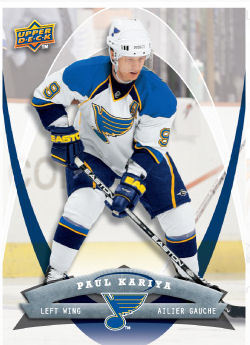 Paul Kariya 2008-09 McDonalds Hockey Card