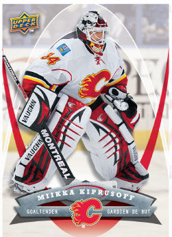 Miikka Kiprusoff 2008-09 McDonalds Hockey Card