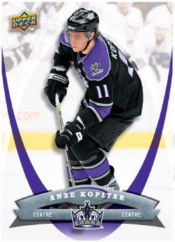 Anze Kopitar 2008-09 McDonalds Hockey Card