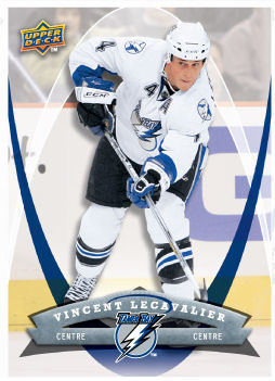 Vincent LeCavalier 2008-09 McDonalds Hockey Card