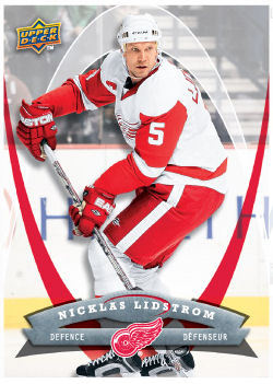 Nicklas Lidstrom 2008-09 McDonalds Hockey Card