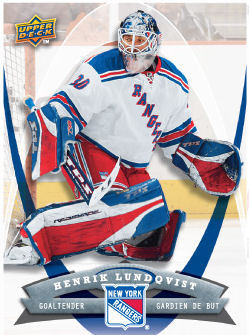 Henrik Lundqvist 2008-09 McDonalds Hockey Card