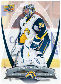 Ryan Miller 2008-09 McDonalds Hockey Card