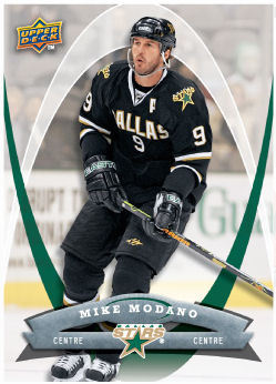Mike Modano 2008-09 McDonalds Hockey Card