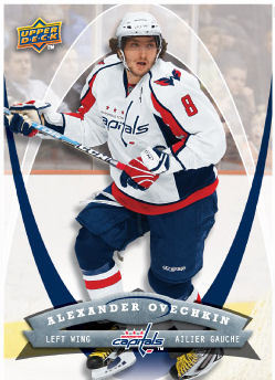 Alexander Ovechkin 2008-09 McDonalds Hockey Card