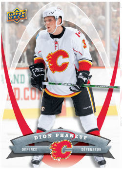 Dion Phaneuf 2008-09 McDonalds Hockey Card