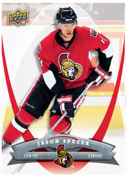 Jason Spezza 2008-09 McDonalds Hockey Card