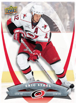 Eric Staal 2008-09 McDonalds Hockey Card