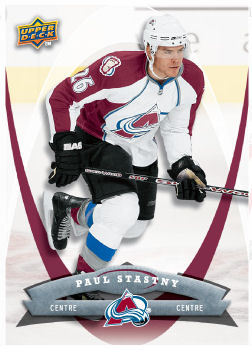 Paul Stastny 2008-09 McDonalds Hockey Card