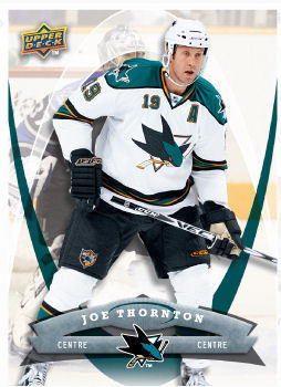 Joe Thornton 2008-09 McDonalds Hockey Card