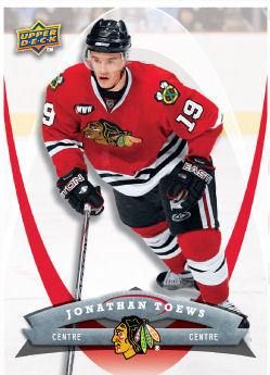 Jonathan Toews 2008-09 McDonalds Hockey Card