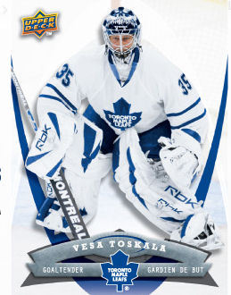Vesa Toskala 2008-09 McDonalds Hockey Card