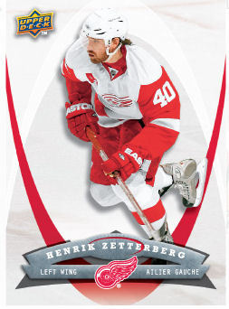 Henrik Zetterberg 2008-09 McDonalds Hockey Card