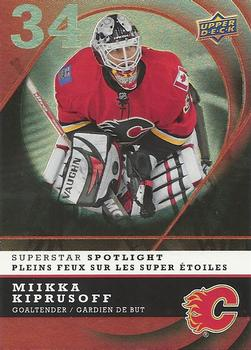 Mikka Kiprusoff 2008-09 McDonalds SuperStar Spotlight