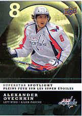 Alexander Ovechkin Carte d'Hockey
