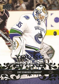 Cory Schneider Young Guns