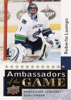 Roberto Luongo Ambassadors of the Game