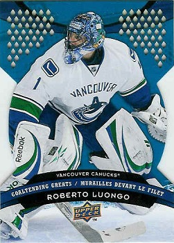 2009-10 McDonalds Roberto Luongo hockey card