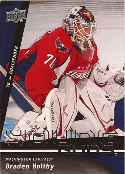 Braden Holtby Upper Deck Rookie Card