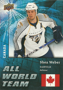 All World Team Shea Weber