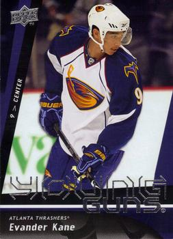 2009-10 Upper Deck Evander Kane Rookie Card