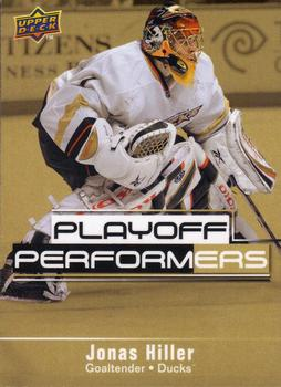 Jonas Hiller Playoff Performers