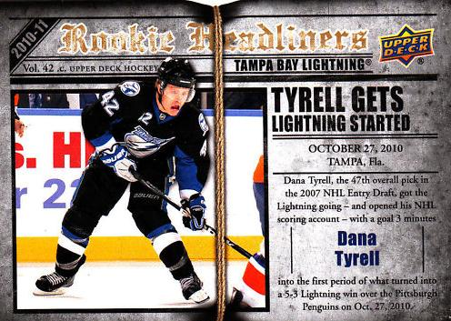2010-11 Upper Deck Rookie Headliners