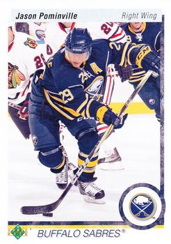 Jason Pominville Upper Deck 20th Anniversary