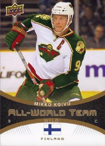Mikko Koivu All-World Teims