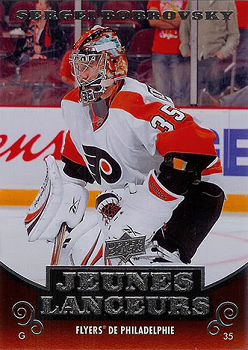 2010-11 Upper Deck French Bobrovsky