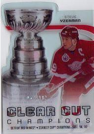 Steve Yzerman Clear Cut Champion