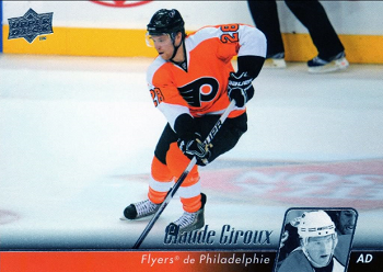 2010-11 Upper Deck French Claude Giroux