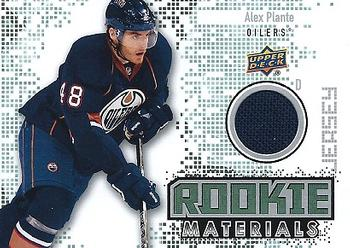 Alex Plante Upper Deck Rookie Materials