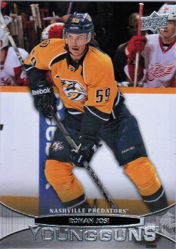 Roman Josi 2011-12 Upper Deck Young Guns
