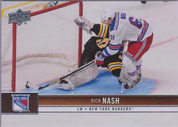 Upper Deck Update Rick Nash