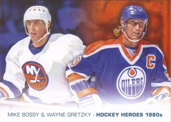 2012-13 Upper Deck Heroes Painting Gretzky & Bossy