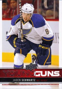 Jaden Schwartz Upper Deck Young Guns
